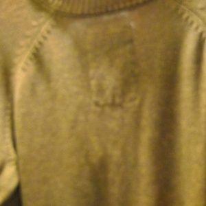 ZENFARI Sweaters - MENS PULL ON BROWN ZENFARI COTTON SWEATER SIZE  XL